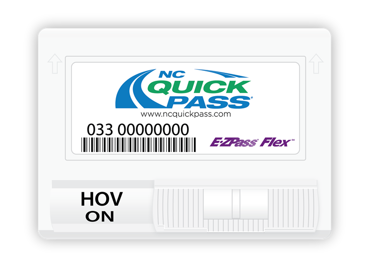 NC Quick Pass Transponders